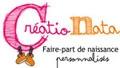 CréatioNata - Faire part de naissance
