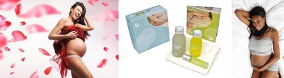 cadeaux et soins de grossesse