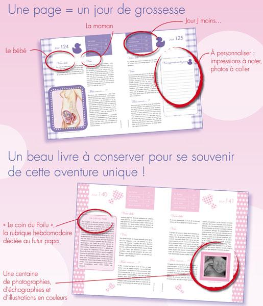Calendrier Femme Enceinte.Un Livre De Grossesse Original