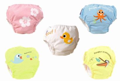 couches plage et piscine bébés