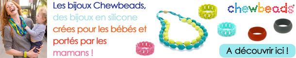 Bijoux chewbeads cadeau de naissance jeune maman