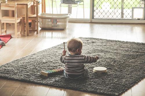 tapis pour enfant cadeau de naissance