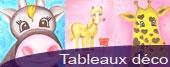 tableaux décoration chambre enfant